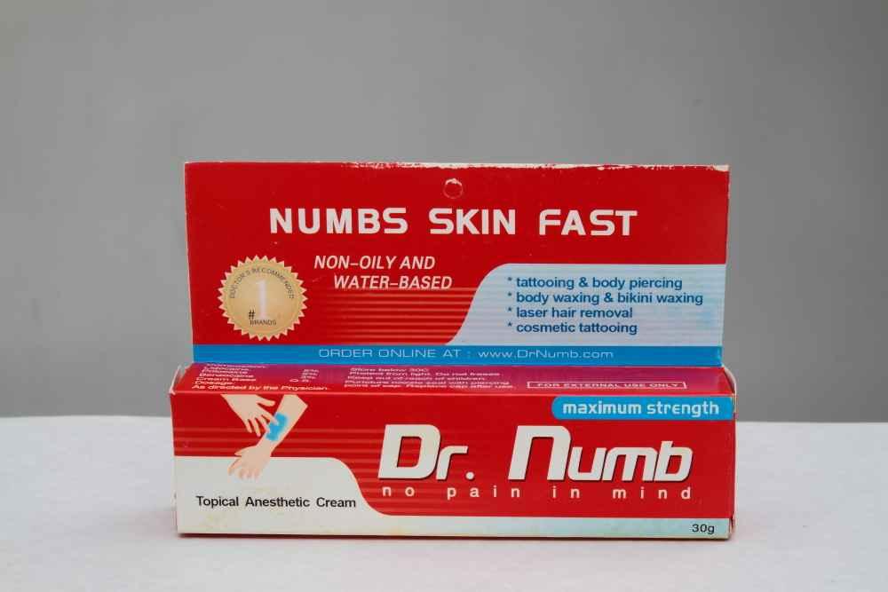 Derma Roller Numbing Cream For Derma Rolling