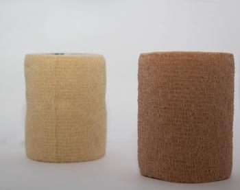 "View: Tan Non-Adhesive Gentle Tape 5cm x 241cm (2"" x 95"")"